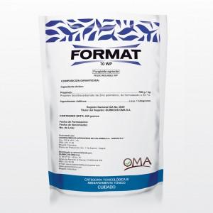 Agroinsumos El Condado -Format 70 WP fungicida agrícola - OMA